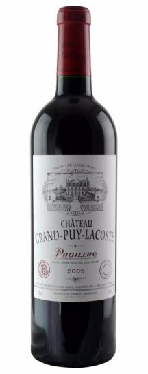 2005 Grand-Puy-Lacoste Bordeaux Blend