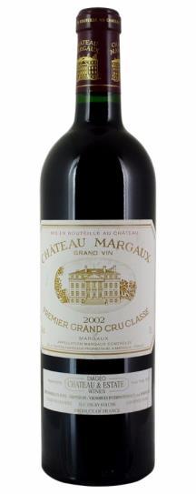 2002 Chateau Margaux Bordeaux Blend