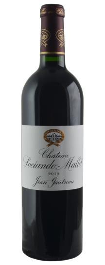 2010 Sociando-Mallet Bordeaux Blend