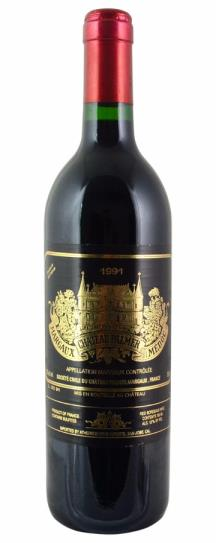 1989 Chateau Palmer Bordeaux Blend