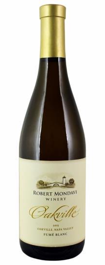 2013 Robert Mondavi Winery Fume Blanc Oakville