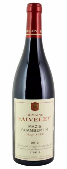2012 Faiveley Mazis Chambertin Grand Cru