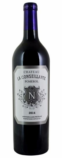 2016 Conseillante, La Bordeaux Blend