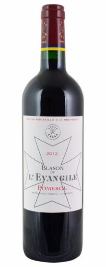 2012 L'Evangile Blason de L'Evangile