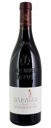 2010 Clos Saint-Jean Chateauneuf du Pape Deus Ex Machina