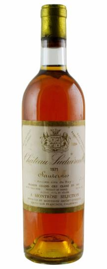 1971 Chateau Suduiraut Sauternes Blend