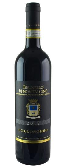 2012 Collosorbo Brunello di Montalcino