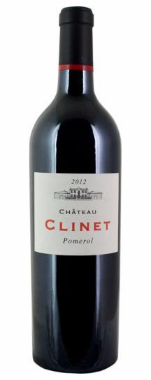 2012 Clinet Bordeaux Blend