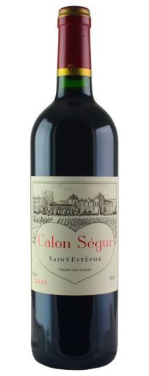2010 Calon Segur Bordeaux Blend