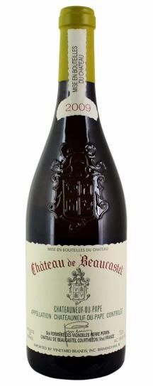 2009 Chateau Beaucastel Chateauneuf du Pape Blanc