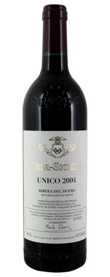 2004 Vega Sicilia Unico