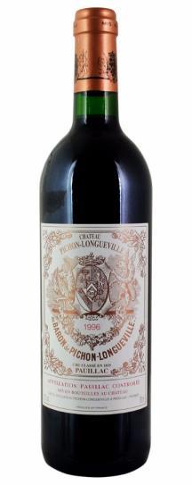 1996 Pichon-Longueville Baron Bordeaux Blend