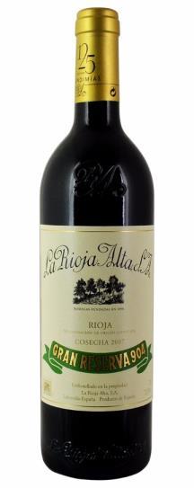 2010 La Rioja Alta Gran Reserva 904