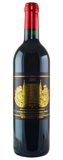 2003 Chateau Palmer Bordeaux Blend