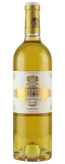 2016 Chateau Coutet Sauternes Blend