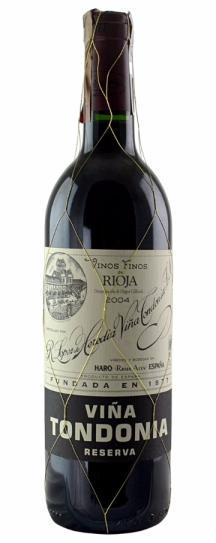 2006 Lopez De Heredia Rioja Vina Tondonia Reserva