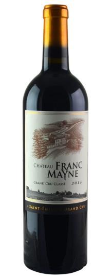 2015 Franc-Mayne Bordeaux Blend