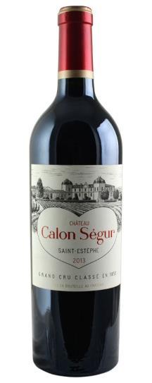 2013 Calon Segur Bordeaux Blend