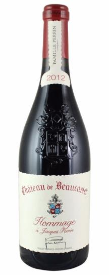 2012 Beaucastel, Chateau Chateauneuf du Pape Hommage A Jacques Perrin