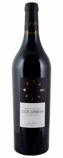 2007 Clos les Lunelles Bordeaux Blend
