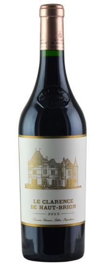 2016 Le Clarence de Haut Brion Bordeaux Blend