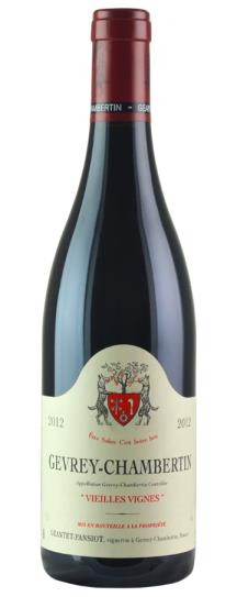 2012 Geantet-Pansiot Gevrey Chambertin Vieilles Vignes
