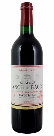 2000 Lynch Bages Bordeaux Blend