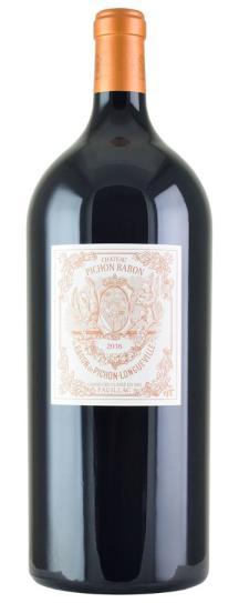 2016 Pichon-Longueville Baron Bordeaux Blend
