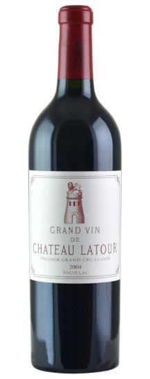 2004 Chateau Latour Bordeaux Blend