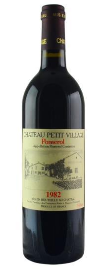 1982 Petit Village Bordeaux Blend