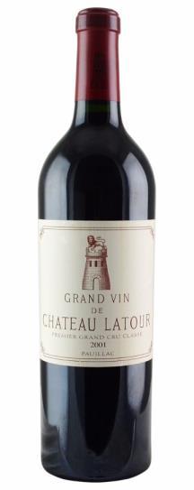 2001 Chateau Latour Bordeaux Blend