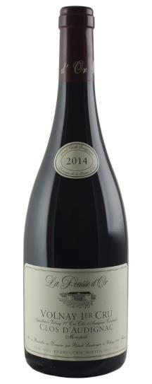 2014 Domaine de la Pousse d'Or Volnay Clos d'Audignac 1er Cru