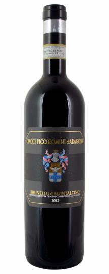 2012 Ciacci Piccolomini d'Aragona Brunello di Montalcino