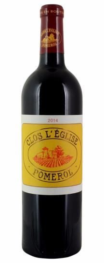 2014 Clos l'Eglise Bordeaux Blend