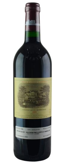 2001 Lafite-Rothschild Bordeaux Blend