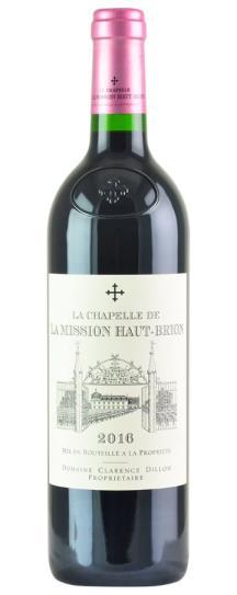 2016 La Mission Haut Brion La Chapelle de la Mission Haut Brion