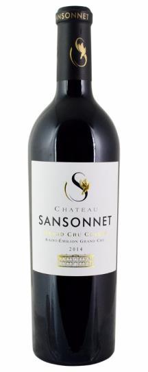 2014 Sansonnet Bordeaux Blend