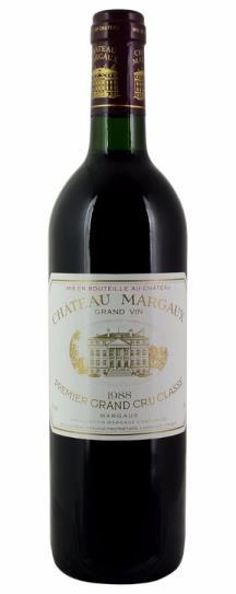 1988 Chateau Margaux Bordeaux Blend