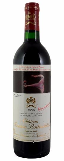 1989 Mouton-Rothschild Bordeaux Blend