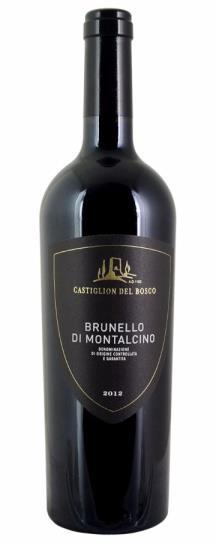2012 Castiglion del Bosco Brunello di Montalcino