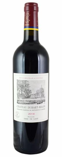 2014 Duhart-Milon-Rothschild Bordeaux Blend