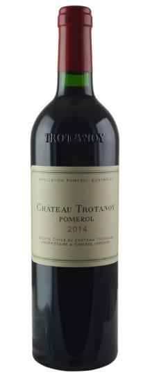 2014 Trotanoy Bordeaux Blend