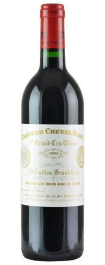 1990 Cheval Blanc Bordeaux Blend