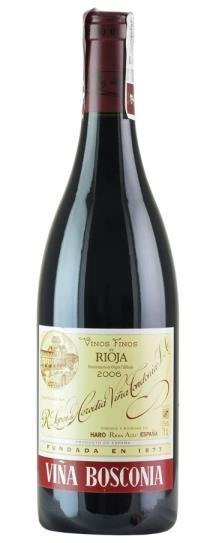 2007 Lopez De Heredia Rioja Vina Bosconia Reserva
