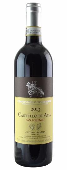2013 Castello di Ama Chianti Classico Vigneto San Lorenzo