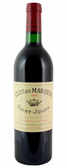 1986 Clos du Marquis Bordeaux Blend