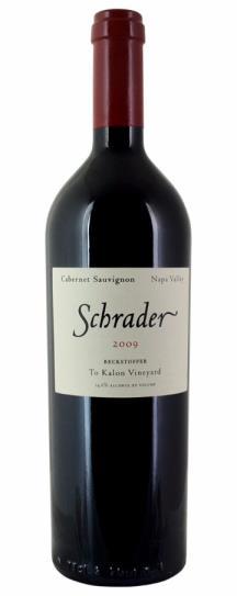 2010 Schrader Cellars Cabernet Sauvignon Beckstoffer To Kalon Vineyard