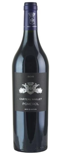 2015 Maillet, Chateau Bordeaux Blend