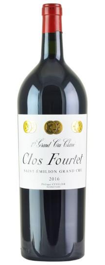 2016 Clos Fourtet Clos Fourtet