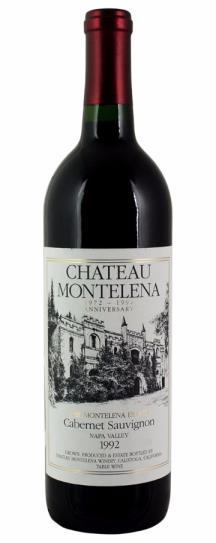 1991 Chateau Montelena Cabernet Sauvignon Estate